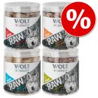 Wolf of Wilderness RAW snacks liofilizados premium - Pack Ahorro 4 unidades